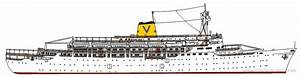 Ss Leonardo Da Vinci Ocean Liner 1958 Plans