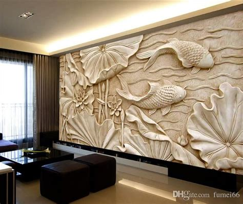 fake wood carvings relief paintings  classical chinese