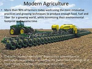 Modern Agricultural Practices