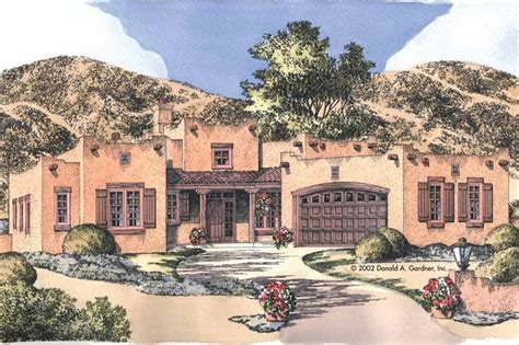 inspiring pueblo house plans photo adobe house plans at home source adobe style house