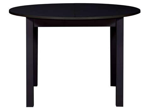 Table Ronde Conforama Table Ronde Avec Allonge 160 Cm Max Coloris Noir Vente De Table Conforama