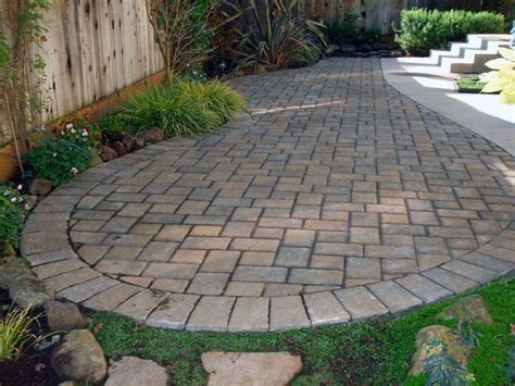 pavers landscaping brick paver patio designs pavers