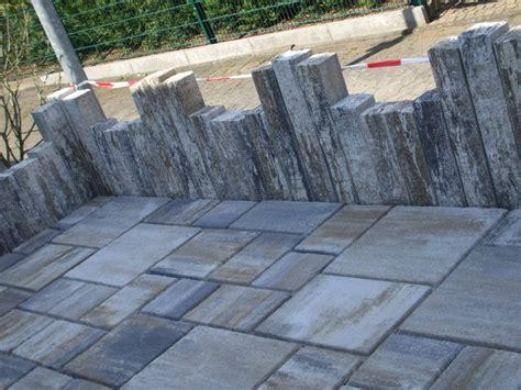 Gartenzaun aus steinen und glass* : Gartenbau - Mauern/Begrenzungen - Odendorfer Gartenbau