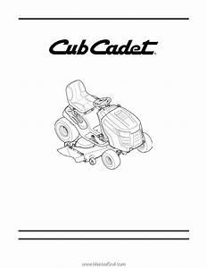 Cub Cadet Ltx 1050 Service Manual