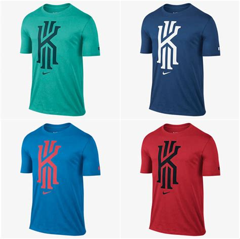 nike kyrie irving foundation logo shirts new colors