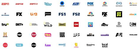 Tv Channels Sling Tv Channels The Channel List For Sling Orange And
