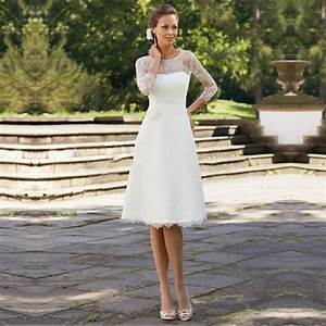 aliexpresscom buy 2015 elegant white lace wedding With elegant short wedding dresses