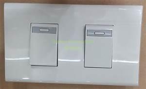 Jual Saklar Seri    Ganda Tanam Panjang Panasonic Wej 5531   Plat Wehj 6802 Limited Di Lapak