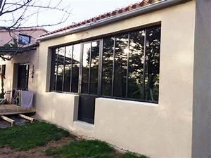 Verriere Atelier Exterieur : verri re ext rieure fine line vend e escaliers ~ Melissatoandfro.com Idées de Décoration