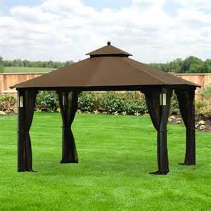 replacement canopy for grand resort audio gazebo riplock 350 garden winds