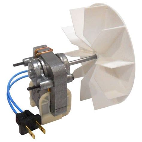 Broan Metal Bath Fan Motor by Broan Replacement Bath Ventilator Motor And Blower Wheel