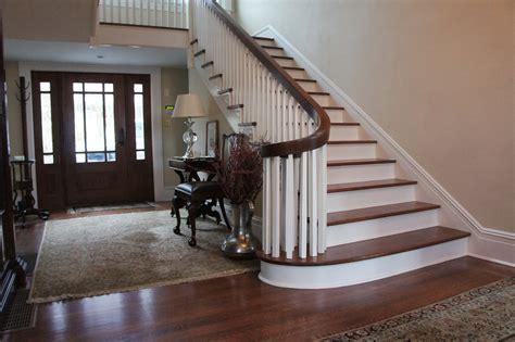 staircase  handrail repair refinishing replacement