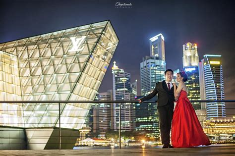 foto prewedding  singapore