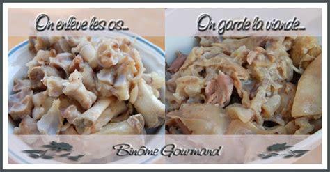 cuisiner les pieds de porc pieds de porc en rouleaux binôme gourmand