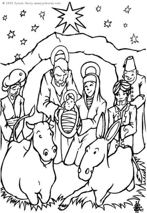 Kerststal Kleurplaat Olwassen by Kleurplaat Kerststal Afb 6448 Images