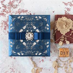 how to make glamorous laser cut invitation with sparkle With laser cut wedding invitations diy uk