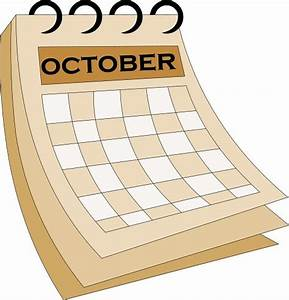 Month of october clipart free clipart images image - Clipartix