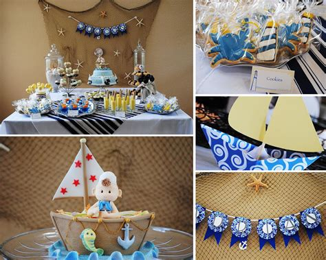 Nautical Baby Shower Decorations For Home: Nautical Baby Shower Cake