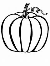 Coloring Pages Gourd Autumn Getcolorings sketch template