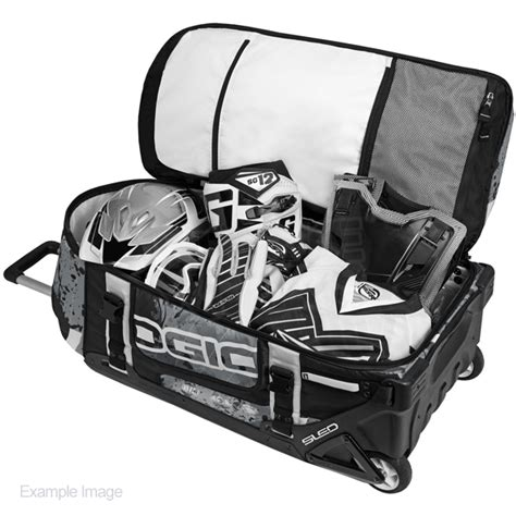 ogio motocross gear bags ogio rig 9800 le motocross wheeled gear bag stealth
