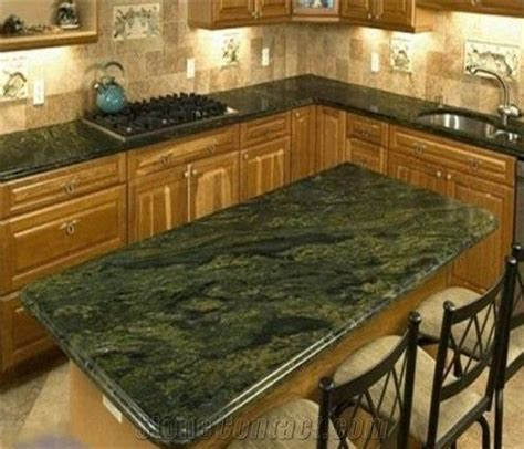 Green Granite Countertops by Marble Green Bench Top Kitchen Countertop Desk Top From