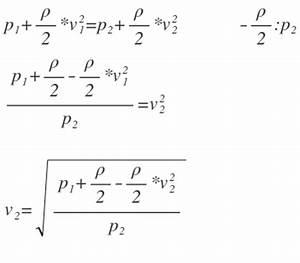 Gewichtskraft Berechnen : formel formel umstellen bernoulli gleichung mathelounge ~ Themetempest.com Abrechnung