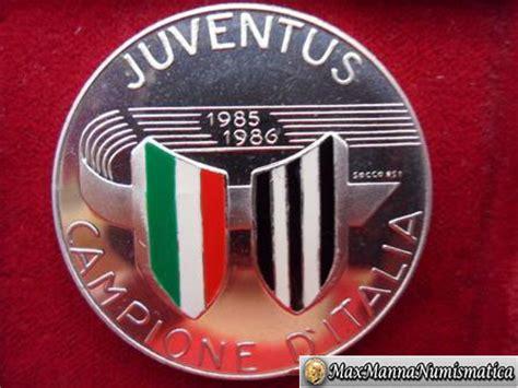 Kaos Juventus Scudetto 33 Juve 01 medaglie sportive medaglia argento juventus cione d