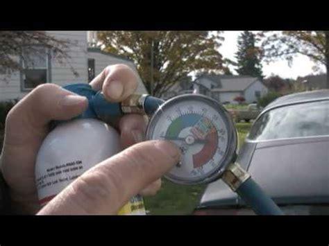 car maintenance   add freon   car air
