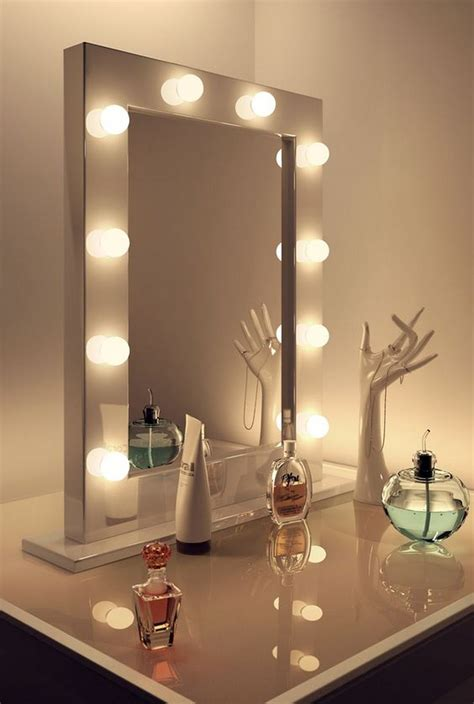 diy hollywood lighted vanity mirror diy projects
