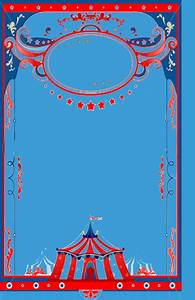 Circus theme background template | Baby shower | Pinterest ...