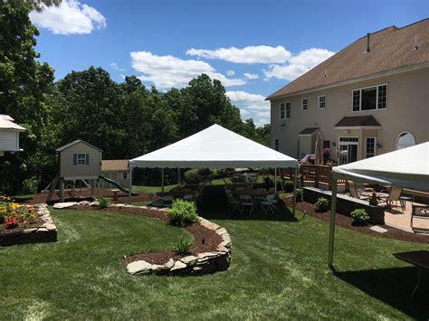 Rent Backyard by A G Tent Rental Rents Tents