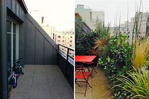 avant apres amenagement d39une terrasse par un With amenagement d une terrasse