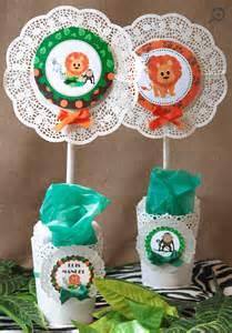 baby girl shower cakes kit mesa dulce safari mi petit partymi petit party