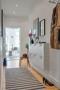 flur einrichten ideen und vorschlage retro teppiche With balkon teppich mit flur tapeten ideen