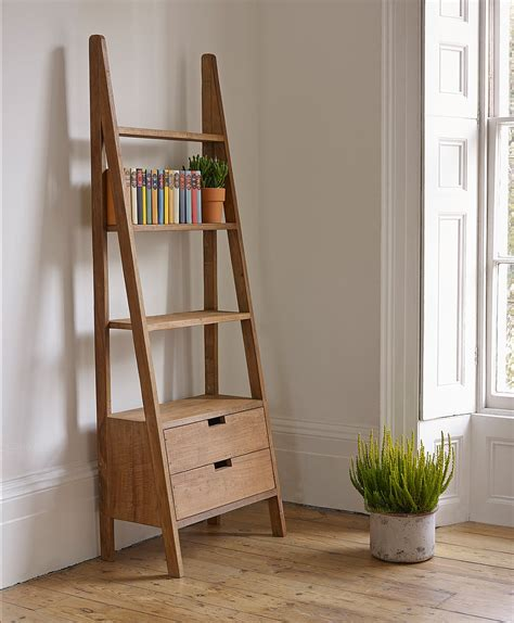 ladder book shelf outstanding storage ideas with a ladder shelving unit