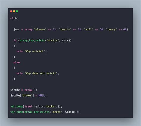 PHP array_key_exists() Function | How To Check If An Array ...