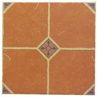 terra cotta tile U.S. Ceramic Tile Terra Cotta 16 in. x 16 in. Ceramic ...