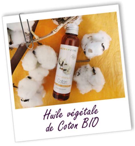 huile de coton cuisine huile végétale de coton bio aroma zone