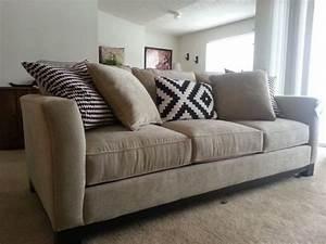 Macys couch update weddingbee for Sectional sofa bed macys