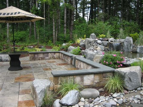 Outdoor Patio Landscaping by Outdoor Patio Contemporary Landscape Seattle By