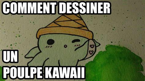 comment cuisiner un poulpe comment dessiner un poulpe kawaii