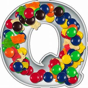 presentation alphabets candy dish letter q With alphabet letter candy dishes