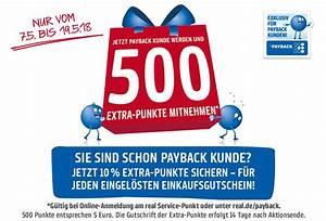 Payback Punkte Aufs Konto : payback punkte sammeln bei real jetzt anmelden ~ Eleganceandgraceweddings.com Haus und Dekorationen