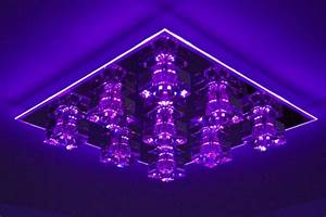 Led rgb colour changing ceiling light with remote and