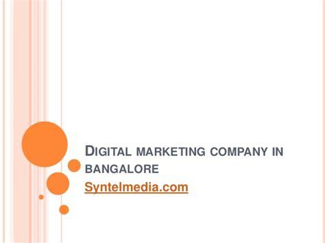digital marketing in bangalore digital marketing company in bangalore