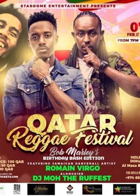 qatar reggae festival  reggaevillecom