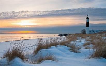 Lighthouse Winter Desktop Wallpapersafari