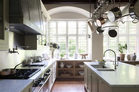 Built In Sideboard Under Window   Transitional   Kitchen
