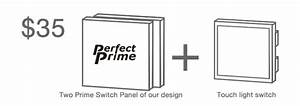 prime switch panel by perfect prime kickstarter With switches youtube