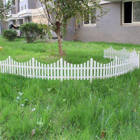cm plastic white plug  fence garden decoration fence